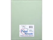 Accent Design Paper Accents ADP8511-5.937 85x11Light Green Vellum
