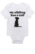 "T-Rex Apparel ""My Sibling Has A Tail"" Dog"