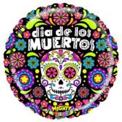 Mighty Dia de los Muertos Mylar Balloon