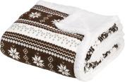 Baby Nordic Soft Sherpa Blanket 80cm X 110cm