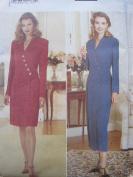 Butterick Pattern 4142 Misses' Dress Sizes 6-8-10