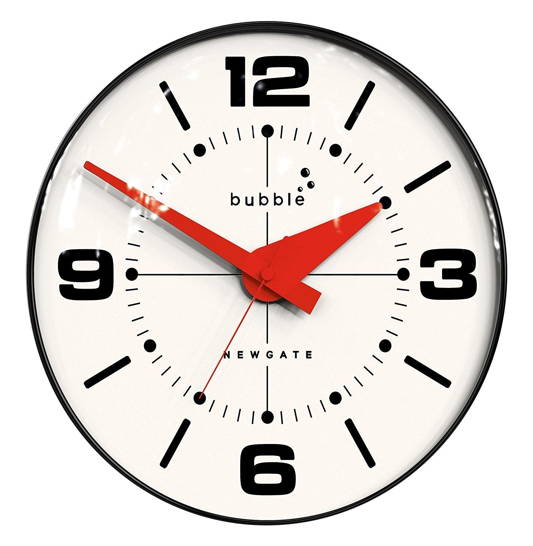 Newgate Bubble Wall Clock Black Body Best Price Ebay