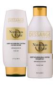 Dessange Paris Nutrition Elixir Deep Nourishing System Shampoo 250ml & Conditioner- 200ml