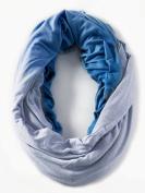 Loop-dee Blue Denim Ombre' Nursing Infinity Scarf