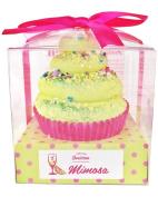 Feelin Smitten 130ml Large Mellow Mimosa Cupcake Bath Bomb