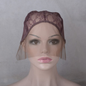 Creamily Professional Swiss Lace Wig Caps for Making Wig with Adjustable Straps Large Size 60cm