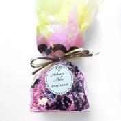 JAQUA Beauty Ambrosia Melon Bath Bomb with Organic Coconut Oil