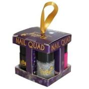Pretty Professional Make Up Gifts - Nail Quad Polish Set