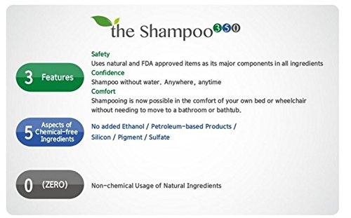 KORSOA the shampoo 300 Series Natural Waterless Shampoo 350+ 100ml |  PrestoMall - Shampoos